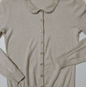 Merona Peter pan collar cardigan